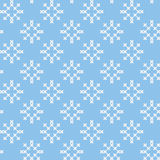 Winter and Christmas seamless background Stock Images