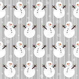 Winter Christmas seamless pattern Royalty Free Stock Photos