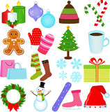 Winter / Christmas Theme Stock Photography