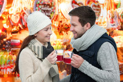 Winter and Christmas time Stock Photos