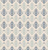 Winter Christmas tree x-mas knit seamless knitted abstract background backdrop. Knitting fir-tree pattern. Winter knitting. Flat. Style design vector illustration