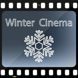 Winter Cinema Royalty Free Stock Photos