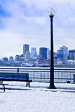Winter city Royalty Free Stock Image