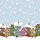 Winter city Stock Photography