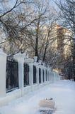 Winter City Royalty Free Stock Photos