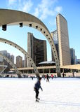 Toronto Nathan Phillips Square Stock Photography