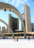 Toronto Nathan Phillips Square Royalty Free Stock Photo