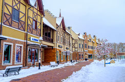 In winter city Royalty Free Stock Photos