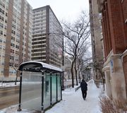 Winter In The City Royalty Free Stock Photography