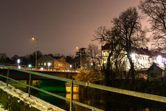 Winter city. Royalty Free Stock Photography