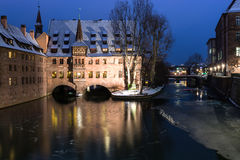 Winter city. Stock Image