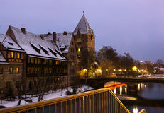 Winter city. Stock Images