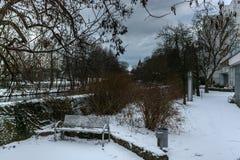Winter city. Royalty Free Stock Photos