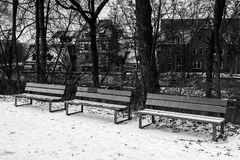 Winter city. Royalty Free Stock Photo