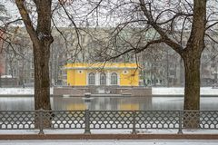 Patriarchal pond in Moscow. Russia Stock Photography