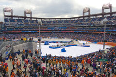 Winter Classic 2012. The NHLs 5th annual Winter Classic between the Philadelphia Flyers and New York Rangers at Citizen's Bank Ballpark, Philadelphia, PA Stock Photos
