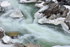 Winter Clear Creek Royalty Free Stock Photos