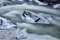 Winter Clear Creek Royalty Free Stock Photo
