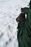 Winter climbing Stock Photos