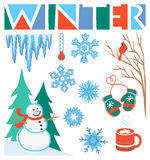 Winter Clip Art Set/eps