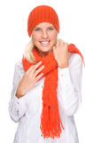 Winter clothes Royalty Free Stock Images