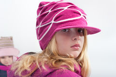 Winter clothes Stock Image