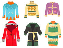 Winter clothes Royalty Free Stock Photos