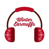 Winter clothes design Royalty Free Stock Images