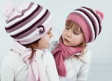 Winter clothes Royalty Free Stock Photos