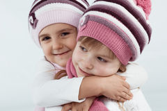 Winter clothes Stock Images