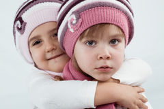 Winter clothes Royalty Free Stock Photography