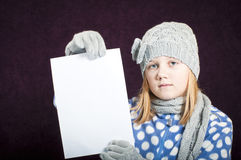 Winter clothing Stock Images