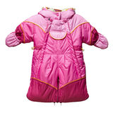 Winter clothing for the baby Stock Images