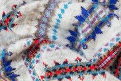 Winter clothing close-up Stock Photo