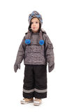 Winter clothing, kid Royalty Free Stock Photo