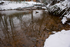 Winter Coast Stock Photography