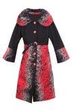 Winter coat. Fashion wool winter coat, isolated on white background Royalty Free Stock Photos