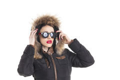 Winter coat Royalty Free Stock Images