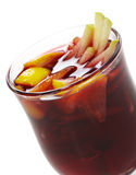 Winter Cocktail -Mulled Wine Royalty Free Stock Photo