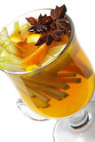 Winter Cocktail -Mulled Wine Stock Photo