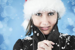 Winter cold Stock Images