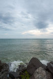 Winter. Cold Black Sea, Bulgaria Stock Photography
