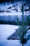 Winter. A cold winter day at the countryside Royalty Free Stock Photography