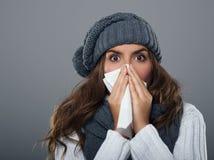 Winter cold Stock Photo