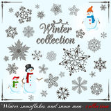 Winter collection Royalty Free Stock Photos