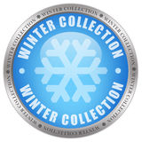 Winter collection icon Stock Images
