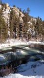 Winter Colorado stockfoto