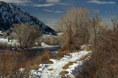 Winter Colorado Day Stock Image