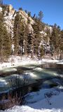 Winter Colorado Stock Photo