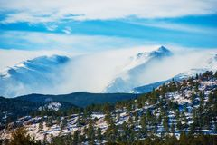 Winter Colorado Rockies Royalty Free Stock Image